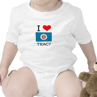 Amo a Tracy Minnesota Traje De Bebé