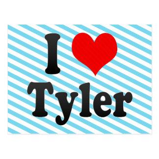 Amo a Tyler, Estados Unidos Postales
