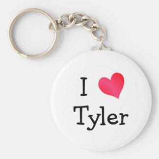 Amo a Tyler Llaveros