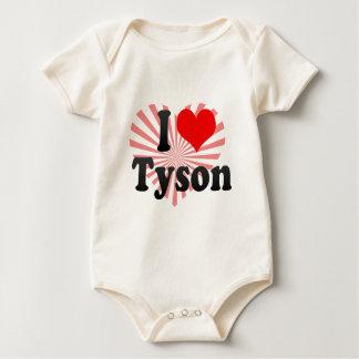 Amo a Tyson Trajes De Bebé