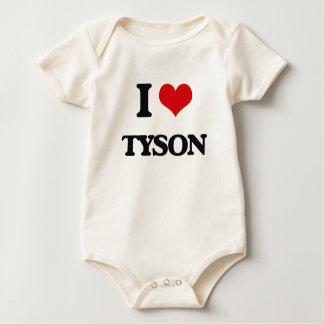 Amo a Tyson Traje De Bebé