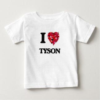 Amo a Tyson Camisetas