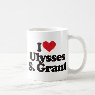 Amo a Ulises S Grant Tazas De Café