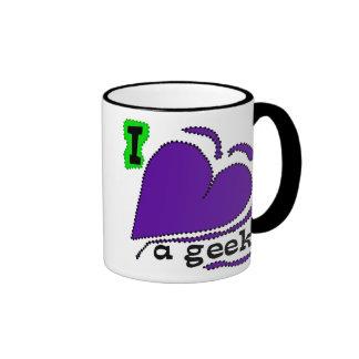 Amo a un friki tazas de café