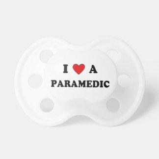 Amo a un paramédico chupetes de bebe