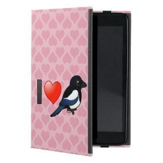 Amo a urracas iPad mini funda