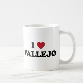Amo a Vallejo California Taza De Café