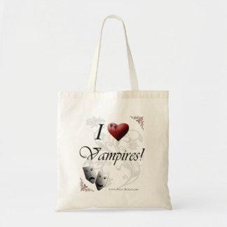 Amo a vampiros bolsa tela barata