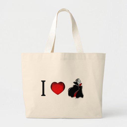 Amo a vampiros bolsas