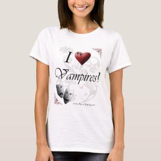 Amo a vampiros playera