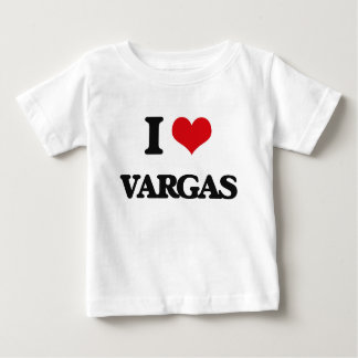 Amo a Vargas Playera Para Bebé