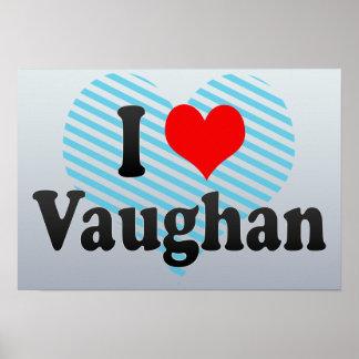 Amo a Vaughan Canadá Impresiones