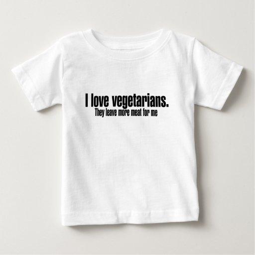 Amo a vegetarianos más carne playera