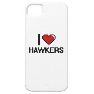 Amo a vendedores ambulantes iPhone 5 Case-Mate protector