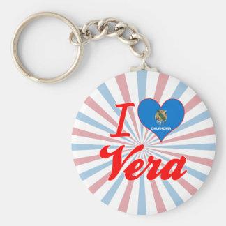 Amo a Vera, Oklahoma Llaveros