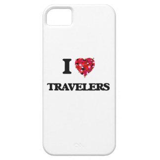 Amo a viajeros funda para iPhone 5 barely there