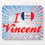 Amo a Vincent, Iowa Tapete De Ratones