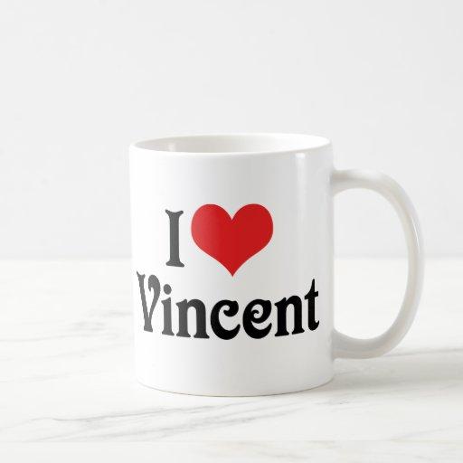 Amo a Vincent Taza Clásica