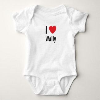 Amo a Wally Mameluco De Bebé