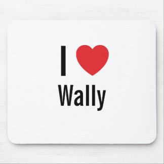 Amo a Wally Tapetes De Ratón