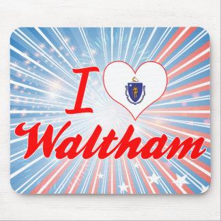 Amo a Waltham, Massachusetts Alfombrillas De Ratones