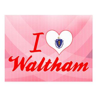 Amo a Waltham, Massachusetts Postal