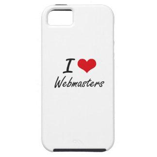 Amo a Webmasters iPhone 5 Carcasas
