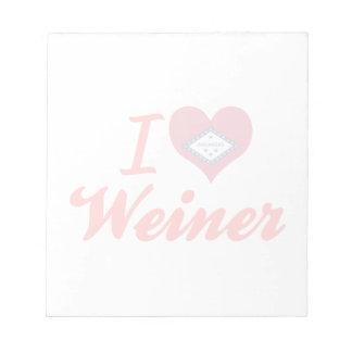 Amo a Weiner Arkansas Bloc