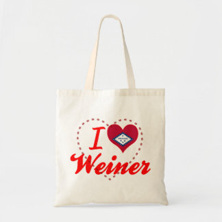 Amo a Weiner Arkansas Bolsas De Mano