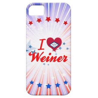 Amo a Weiner Arkansas iPhone 5 Case-Mate Coberturas