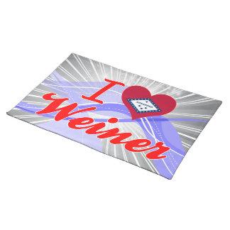 Amo a Weiner Arkansas Mantel