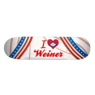 Amo a Weiner Arkansas Patines Personalizados