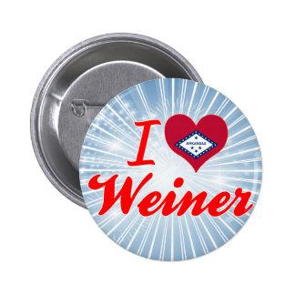Amo a Weiner Arkansas Pin