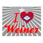 Amo a Weiner, Arkansas Postal