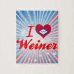 Amo a Weiner, Arkansas Rompecabeza Con Fotos