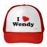 Amo a Wendy Gorros Bordados