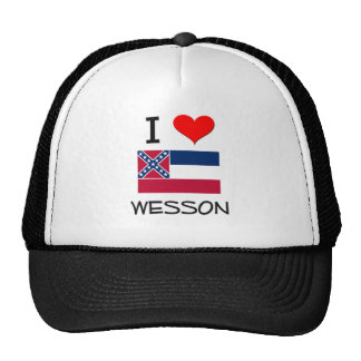 Amo a Wesson Mississippi Gorros