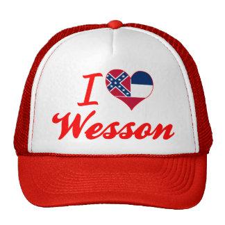Amo a Wesson, Mississippi Gorros Bordados