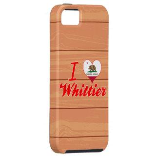 Amo a Whittier California iPhone 5 Carcasa