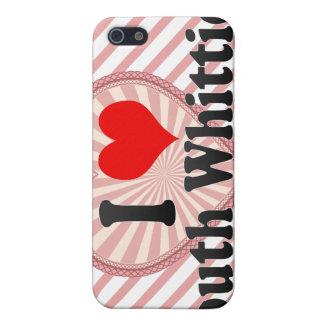 Amo a Whittier del sur Estados Unidos iPhone 5 Cárcasas