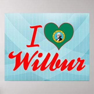 Amo a Wilbur Washington Posters
