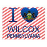 Amo a Wilcox, PA Postales