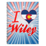 Amo a Wiley, Colorado Libreta