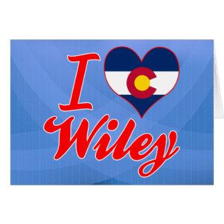 Amo a Wiley, Colorado Tarjeton