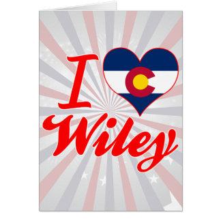 Amo a Wiley, Colorado Tarjeta