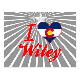 Amo a Wiley, Colorado Tarjetas Postales