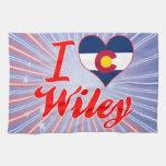 Amo a Wiley, Colorado Toalla