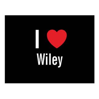 Amo a Wiley Tarjetas Postales