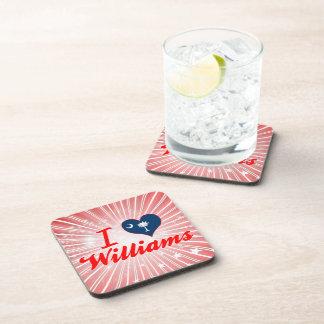 Amo a Williams, Carolina del Sur Posavasos De Bebida