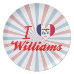 Amo a Williams, Iowa Platos